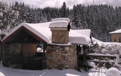 Снежно в Доспат (видео)